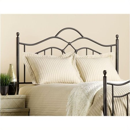 Hawthorne Collections King Metal Spindle Headboard in Bronze