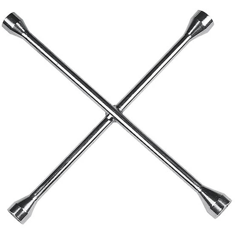"Custom Accessories 84441 14"" 4-Way Lug Wrench"