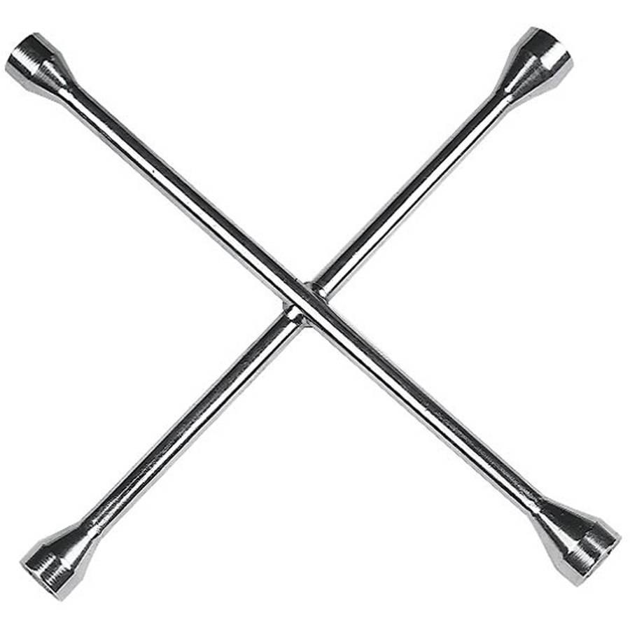"Custom Accessories 84441 14"" 4-Way Lug Wrench"