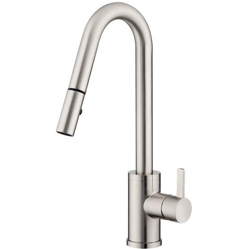 Danze Amalfi Single Handle Kitchen Faucet With Side Spray Walmart Com