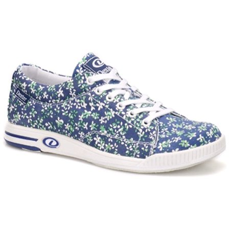 Dexter Womens Katie Bowling Shoes- Blue Floral