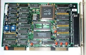 """SPECIALIX 02-090001 Specialix 02 090001 SI XIO ISA Host Card w Cable and TA8 