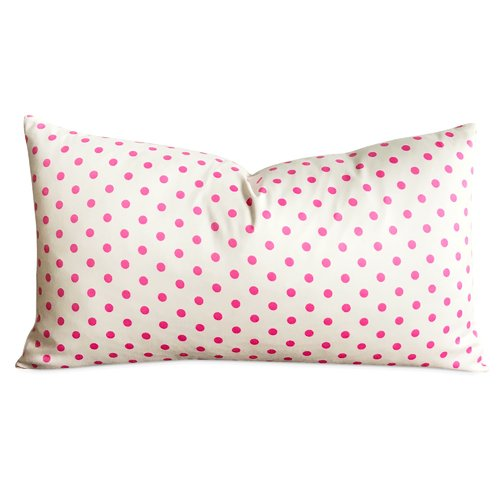 Harriet Bee Mobile Polka Dot Decorative Pillow Cover