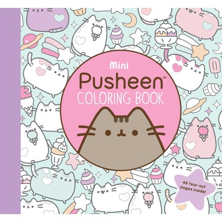 Mini Pusheen Coloring Book](Mini Printable Halloween Coloring Book)