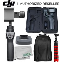 DJI Osmo Mobile 2 Handheld Smartphone Gimbal Stabilizer Must-Have Bundle - CP.ZM.00000064.02