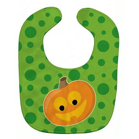 Halloween JackOLantern Baby Bib
