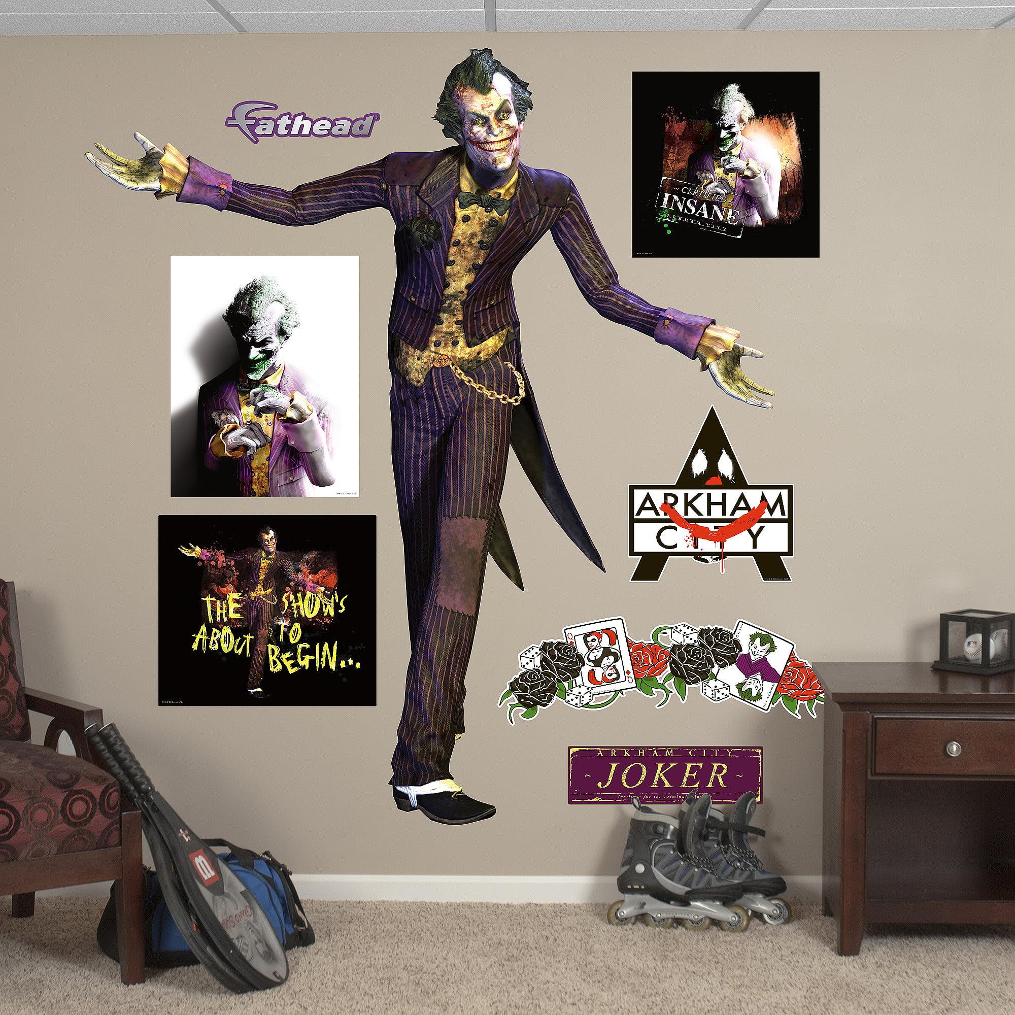 Joker Arkham City Fathead