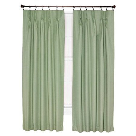 Ellis Curtain Crosby Thermal Insulated 144 By 84 Inch Pinch Pleated Foamback Curtains 48