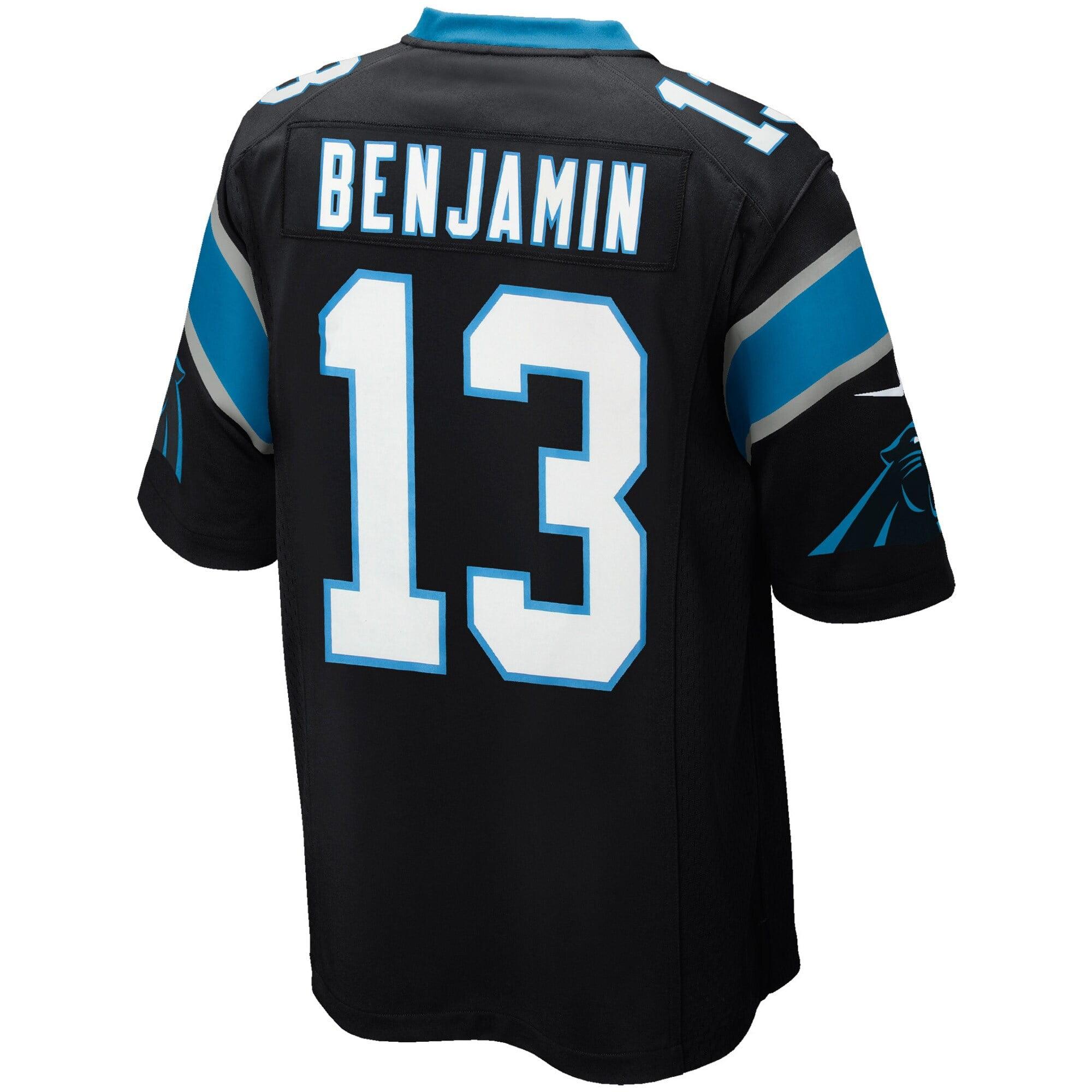 Kelvin Benjamin Carolina Panthers Youth Nike Team Color Game Jersey - Black