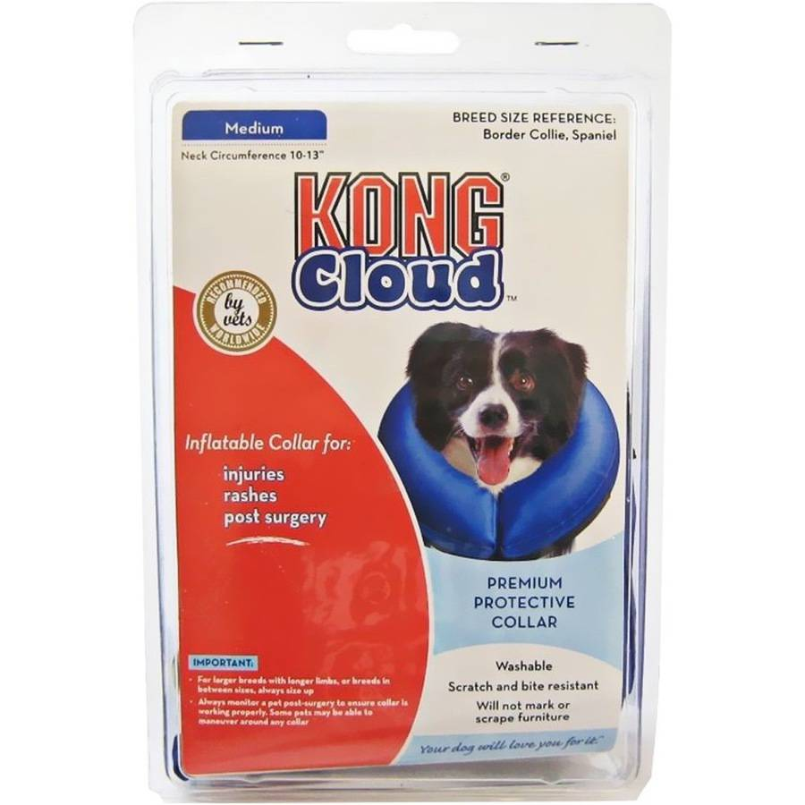 Kong Cloud Inflatable Collar M Blu