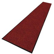 NOTRAX 130C003660RB Carpeted Runner, Red/Black, 3 x 60 ft.