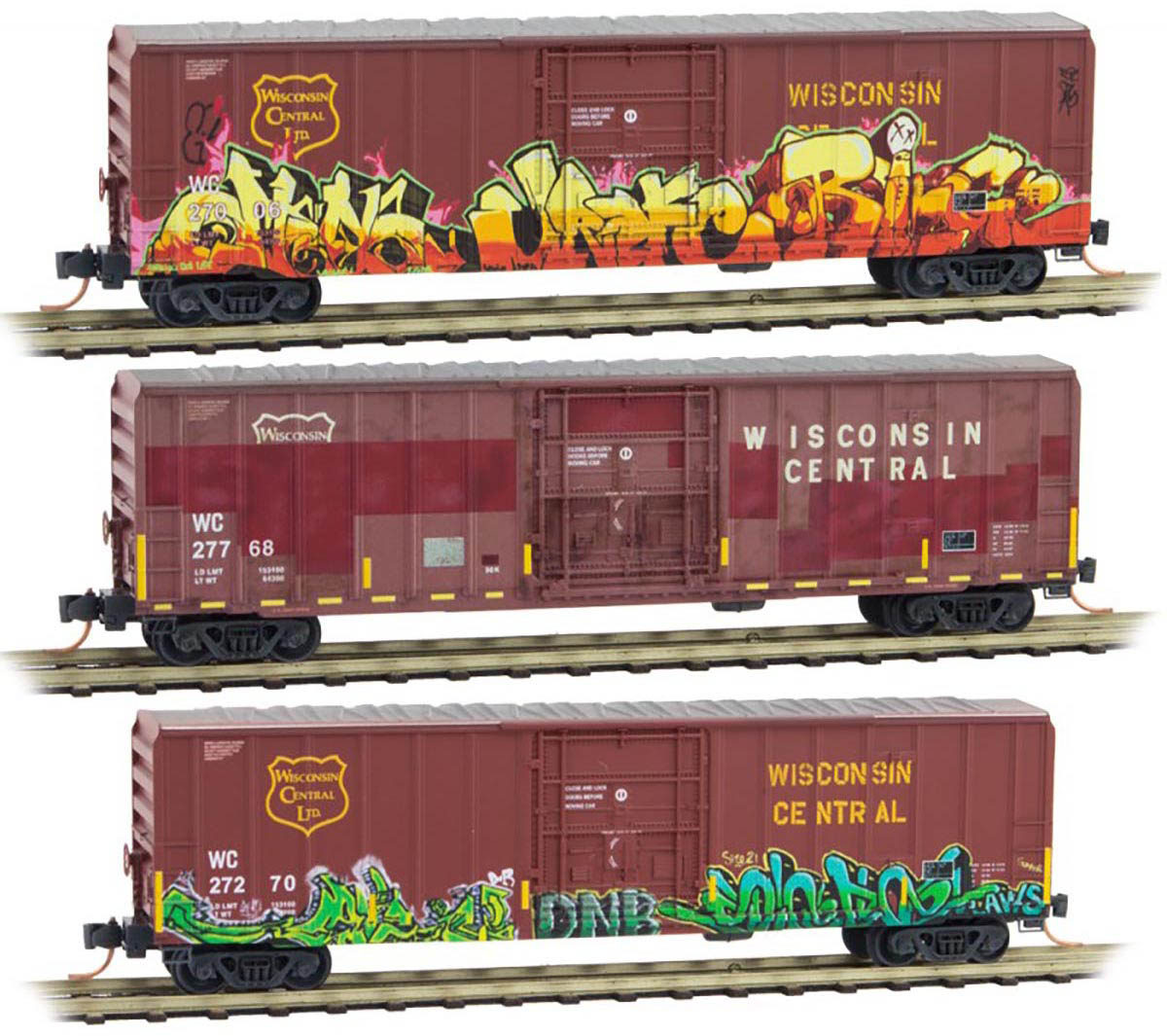 Micro-Trains MTL 075 00 180 Wisconsin Southern 50/' DD Boxcar