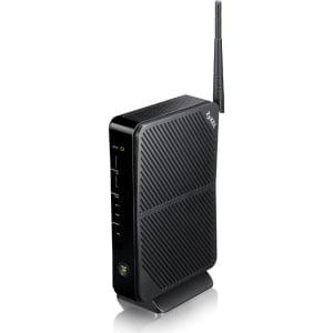 ZyXEL VMG4325-B10A IEEE 802.11n VDSL2, Ethernet Modem/Wireless Router - 2.40 GHz ISM Band - 2 x Antenna(1 x Internal/1 x External) - 300 Mbit/s Wireless Speed - 4 x Network Port - 1 x Broadband