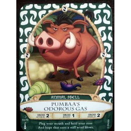 Sorcerers Mask of the Magic Kingdom Game Walt Disney World - Card #54 Pumbaa's Odorous Gas by Sorcerers Mask of the Magic Kingdom - image 1 of 1