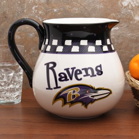 Baltimore Ravens Game Day Ceramic Pitcher - No Size