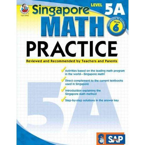 Singapore Math Practice, Level 5A