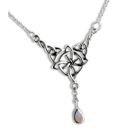 celtic moonstone necklace - 450×450