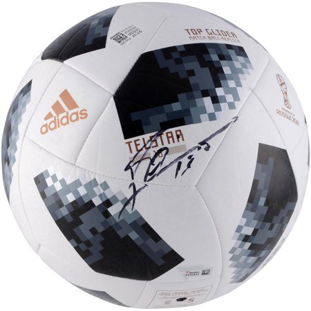 Lionel Messi Argentina Autographed 2018 FIFA World Cup Telstar 18 Soccer Ball - Fanatics Authentic Certified (Messi Signed Ball)