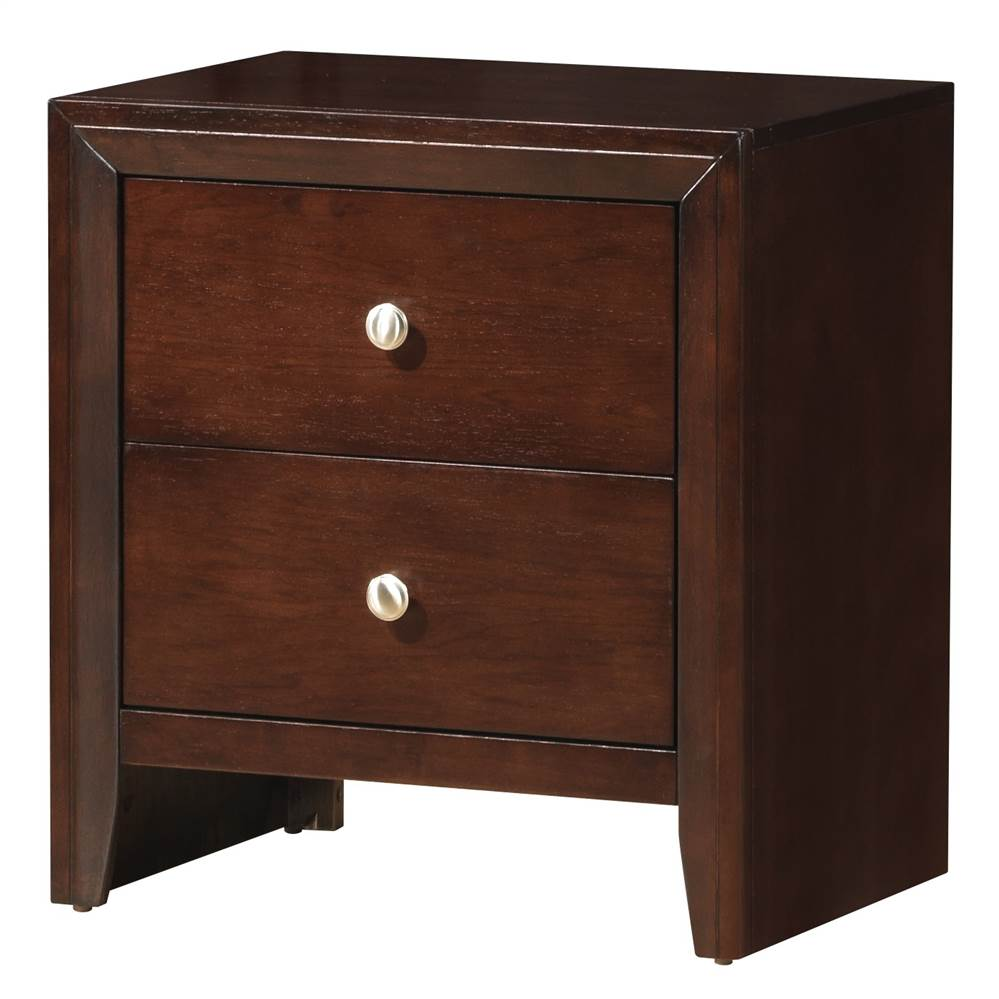 Nightstand in Cherry Finish