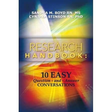Research Handbook: 10 Easy Question - and - Answer Conversations [Paperback] [Feb 22, 2010] Boyd, Sandra M. and