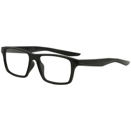 Eyeglasses Black Frame - Nike SB Men's Eyeglasses 7112 010 Black Full Rim Optical Frame 53mm