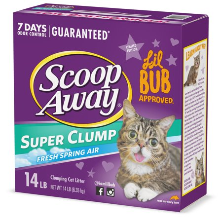 Scoop Away Extra Strength Clumping Cat Litter, Scented, 25 Pounds
