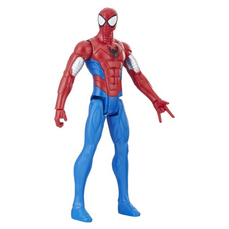 Spider-Man Titan Hero Series Web Warriors: Armored Spider-Man (The Amazing Spider Man Suit For Sale)