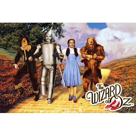 The Wizard of Oz - Yellow Brick Road Poster - (Wizard Of Oz Wall Decor)