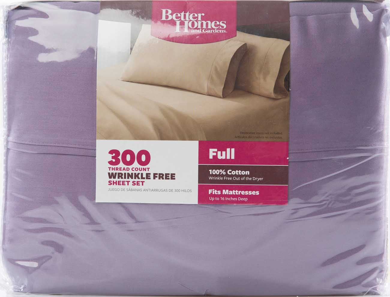 Better Homes And Gardens 300 Thread Count Sheet Collection   Walmart.com