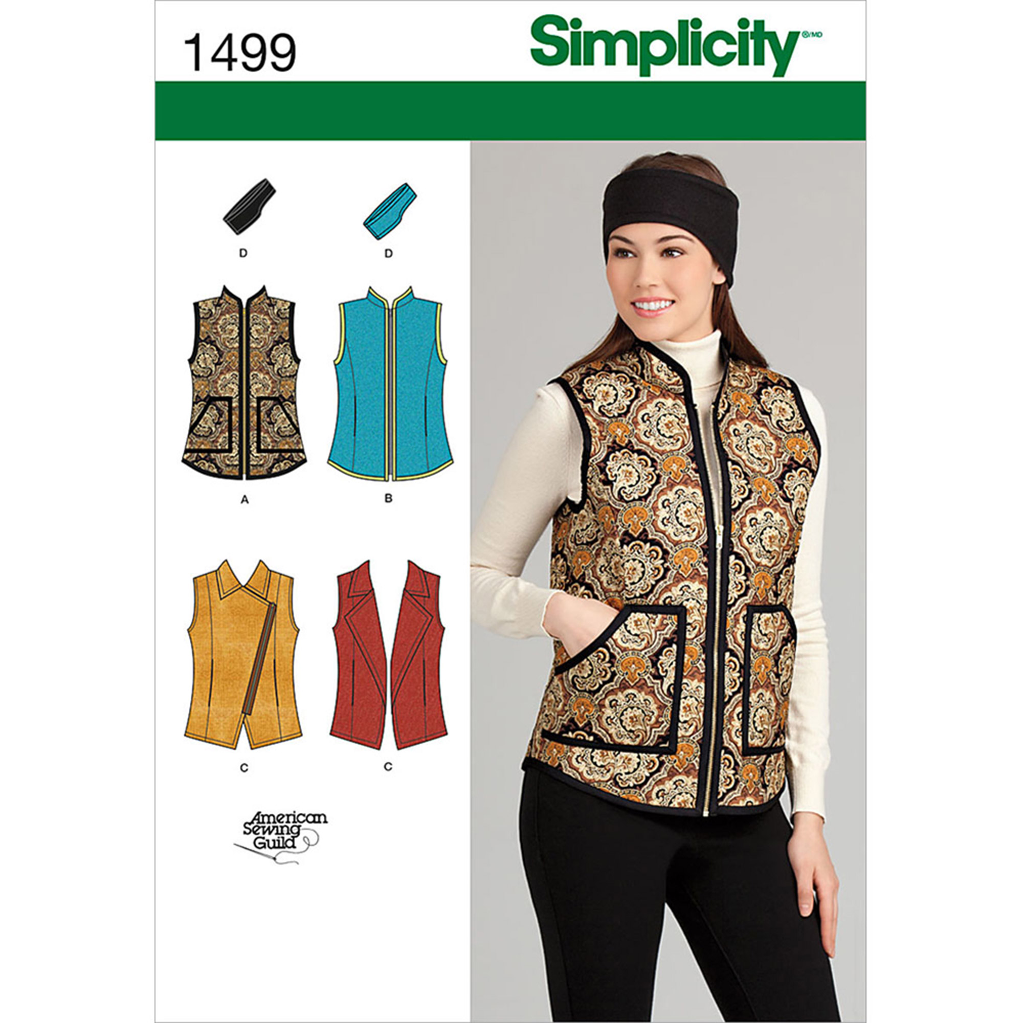 Simplicity Patterns Misses Jackets Coats, 6, 8, 10, 12, 14 On Sale ...