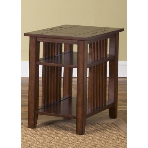 Liberty Traditional Cherry Chair Side Table