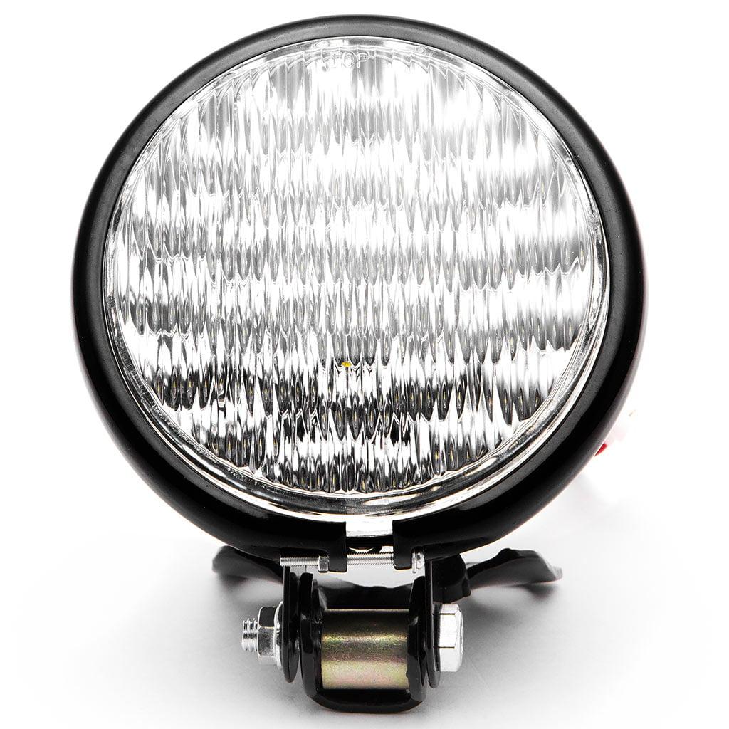 "Krator 5"" Black LED Headlight with Light Mounting Bracket for Suzuki Boulevard S40 S50 S83 - image 6 of 7"