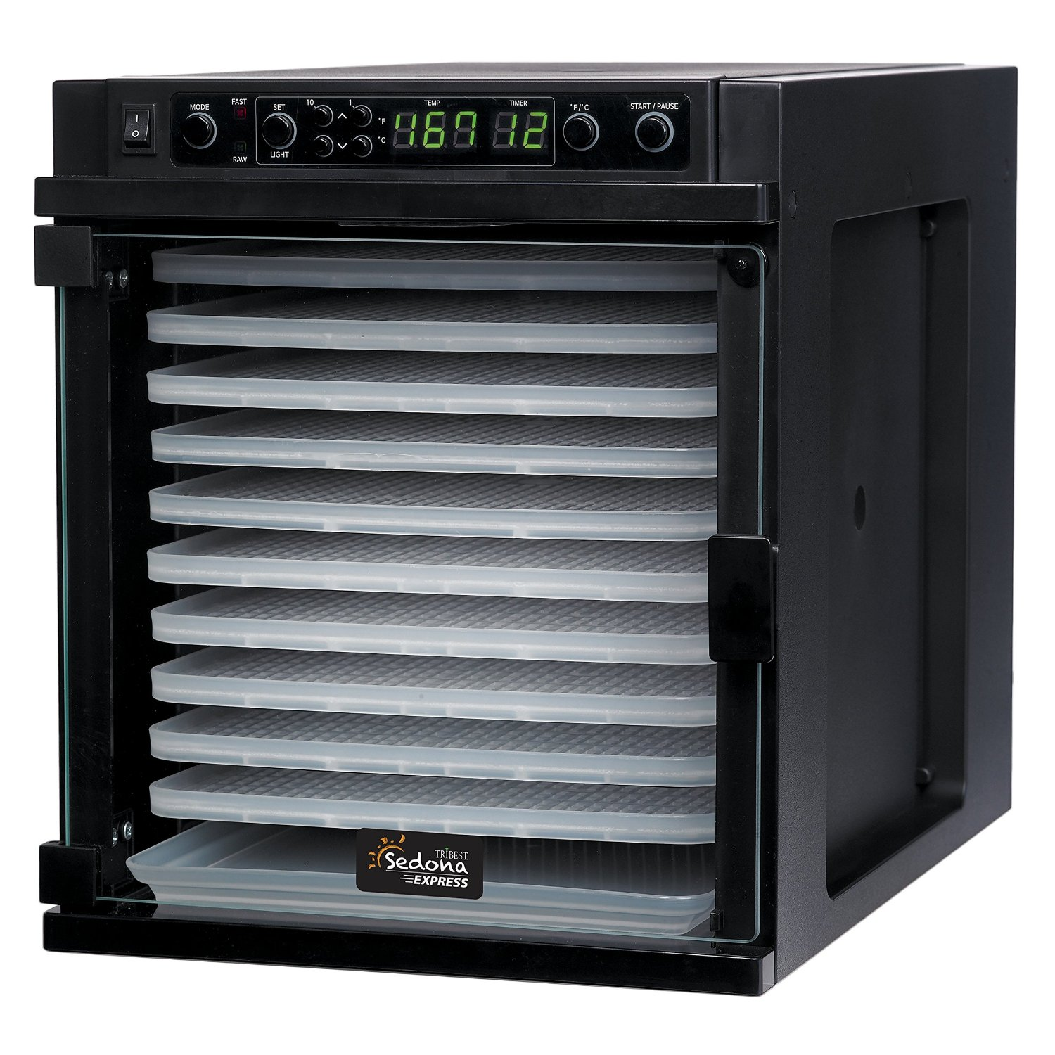 Tribest Sedona Express SDE-P6280-F Digital Food Dehydrato...