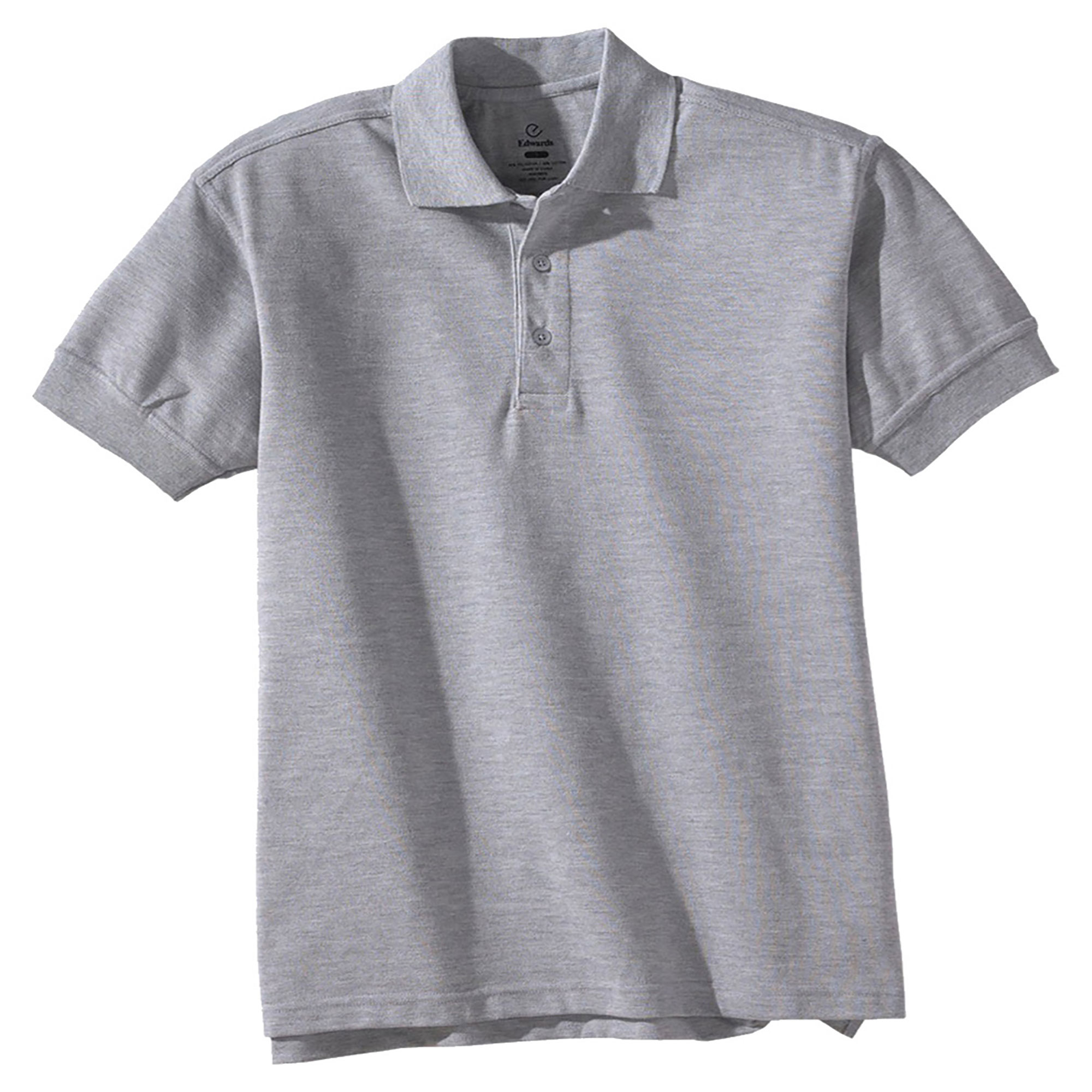 Edwards Men's Big And Tall Soft  Pique Polo Shirt, Style 1500