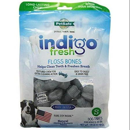 Petsafe Indigo Fresh Floss Bones, Small, 18 oz