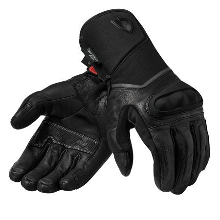 Rev'It Summit 3 H2O Mens Leather Gloves Black