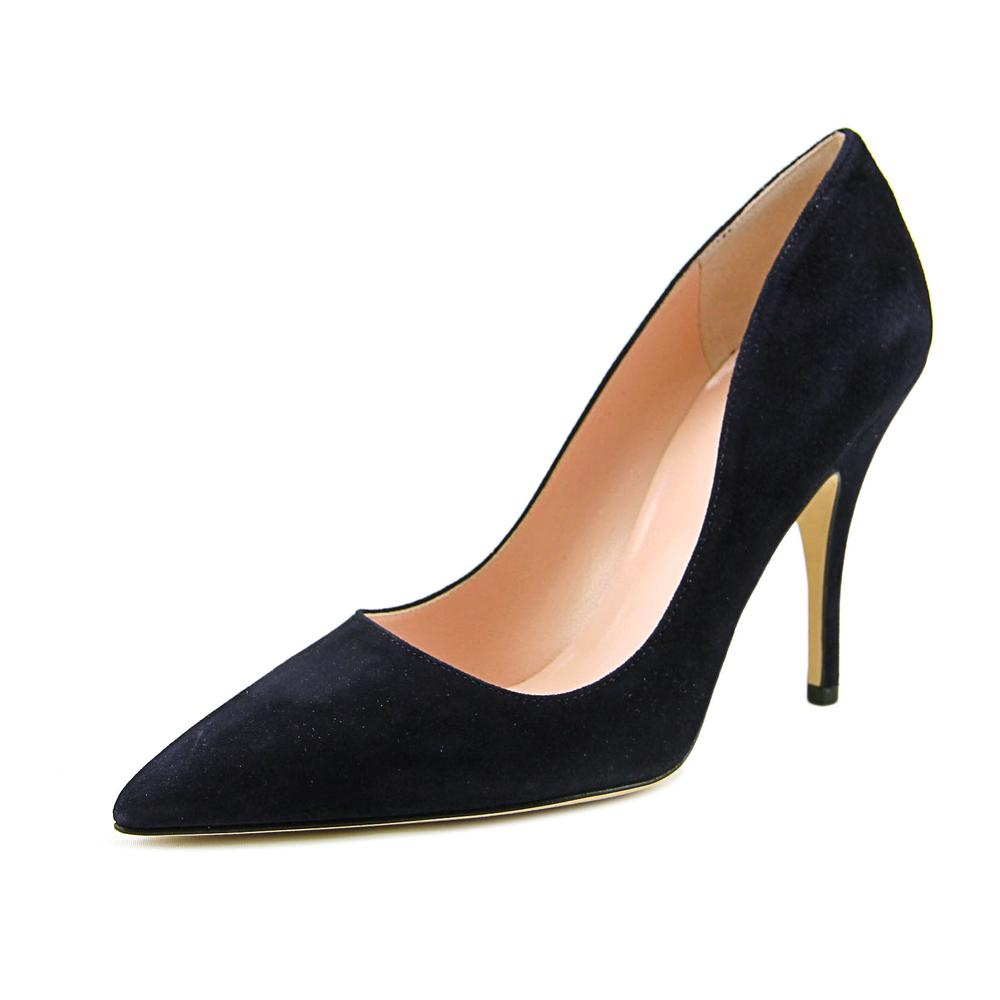 Kate Spade Licorice Women  Pointed Toe Suede Blue Heels
