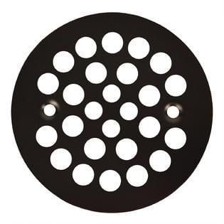 Oil Rubbed Bronze Shower Drain Cover (Oil Rubbed Bronze Round Shower Grate Drain 4 1/4