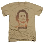 Taxi Blame It On The Brownies Mens Heather Shirt