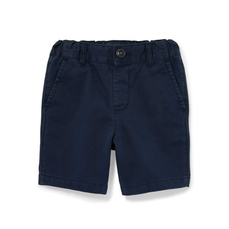 Baby And Toddler Boys Solid Woven Chino Shorts