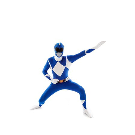 Blue Power Rangers Morphsuit - Halloween Morphsuit Prank
