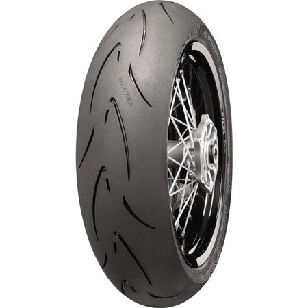 CONTINENTAL Attack SM Supermoto Radial Tire Rear 140/70HR17 for Honda