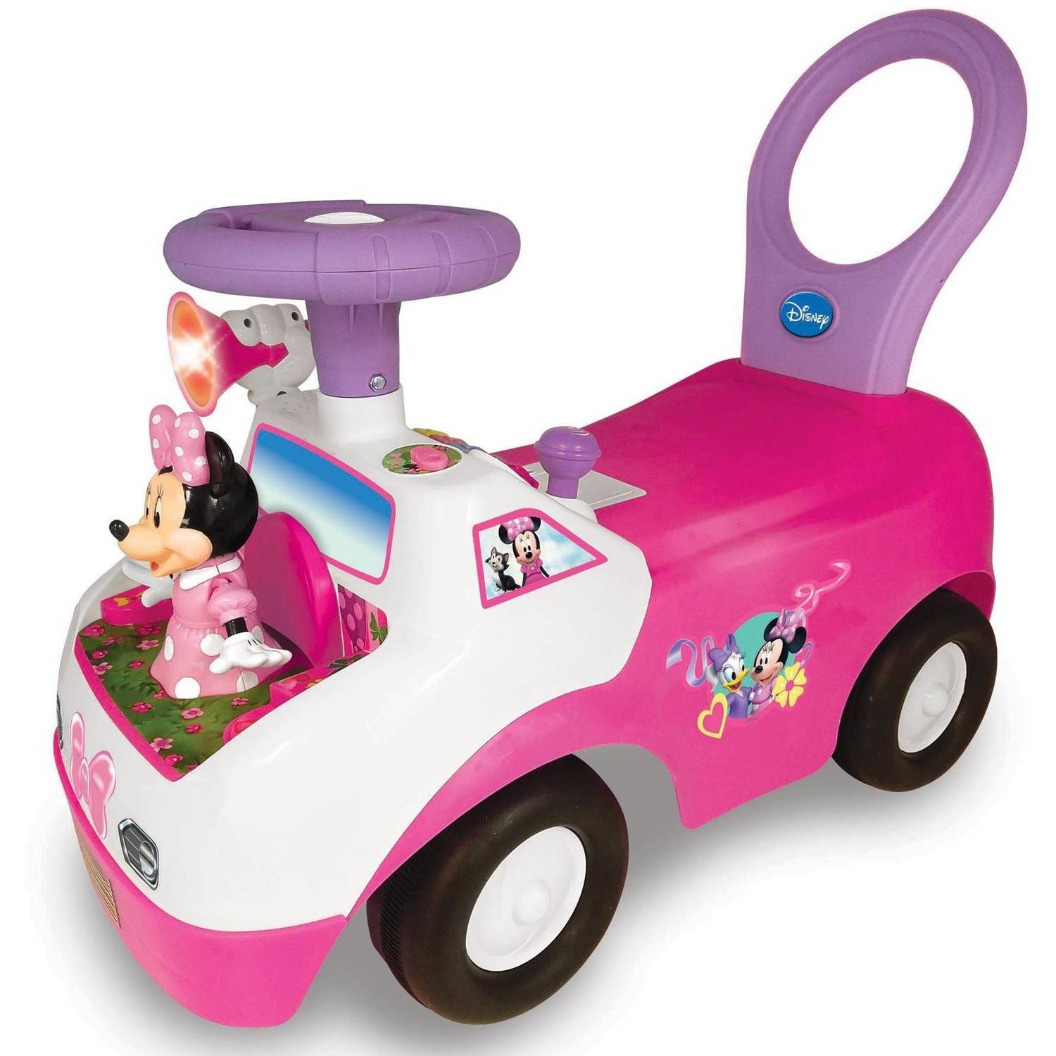 Kiddieland Disney Minnie Mouse Dancing Light and Sound Activity Ride-On by Kiddieland