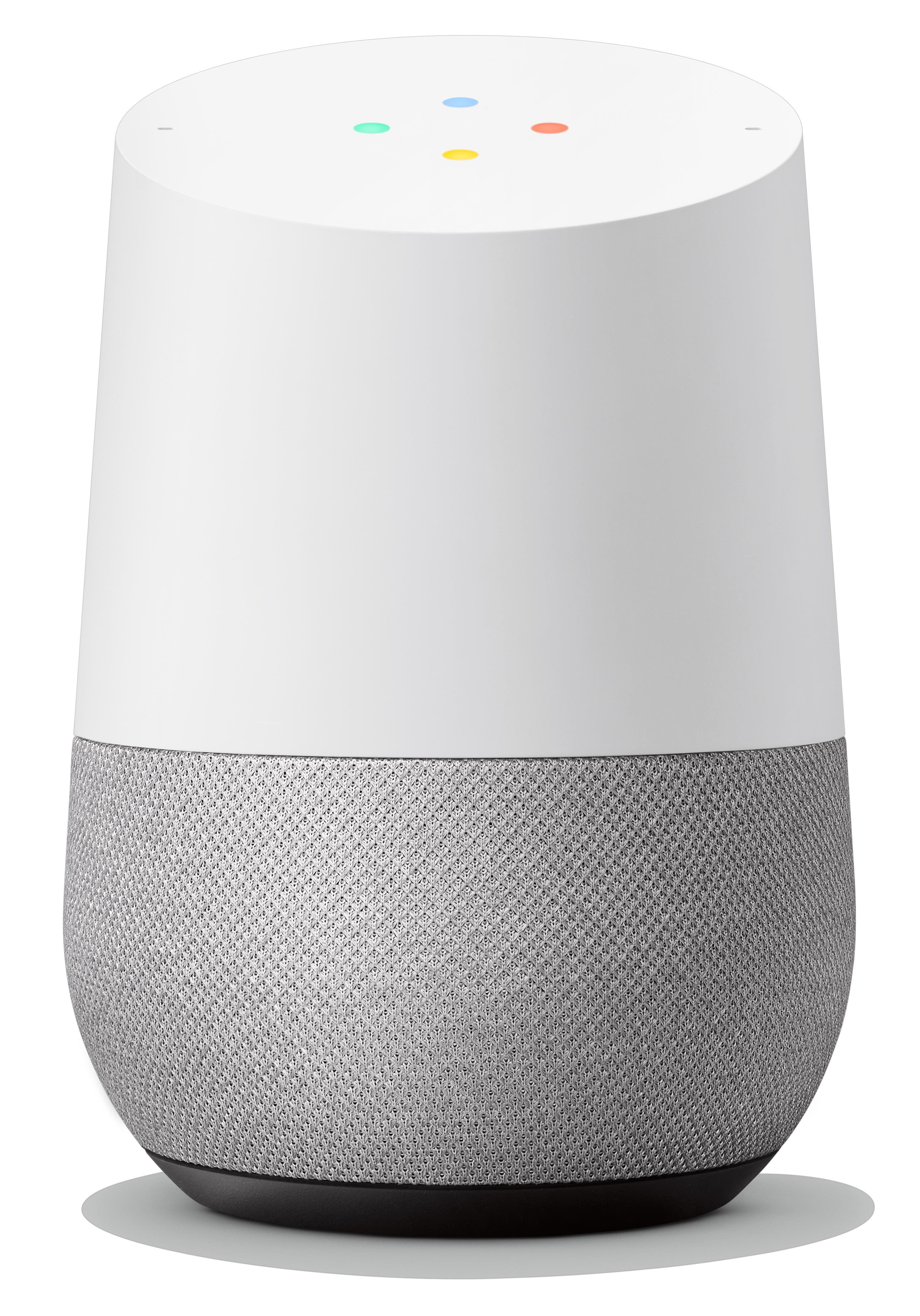 Google Home - Smart Speaker & Google Assistant, Light Grey & White