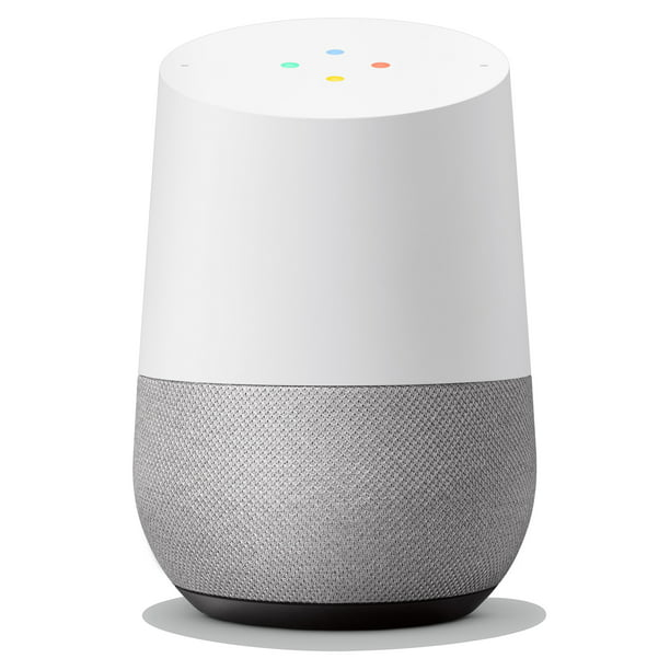 Google Home - Smart Speaker & Google Assistant, Light Grey & White