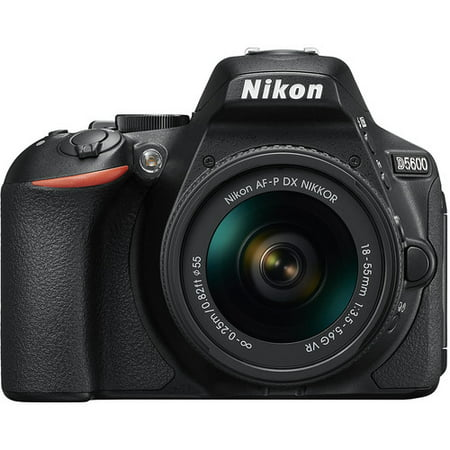Nikon D5600 DSLR 24.2MP Camera with 18-55mm Lens (The Best Nikon Dslr Camera)