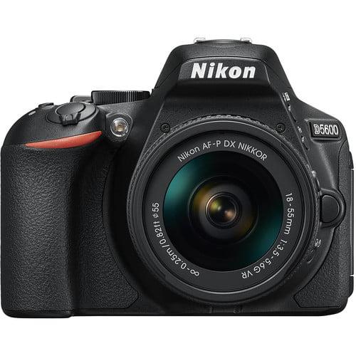 Nikon D5600 DSLR 24.2MP Camera with 18-55mm Lens
