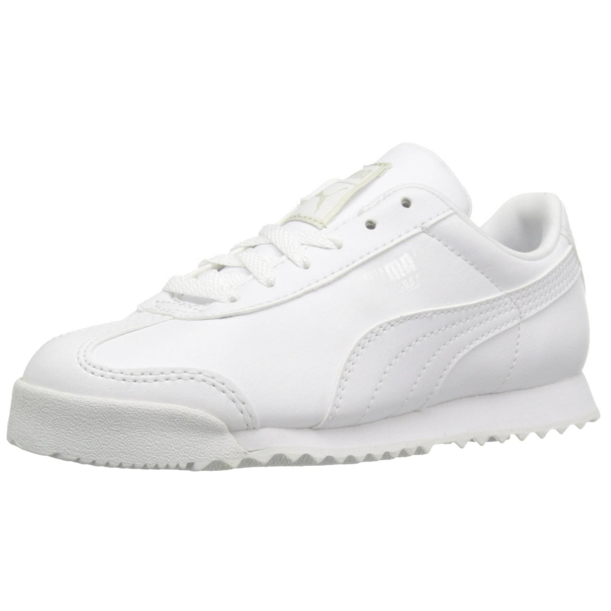 37fa3e708125 Buy Puma 361594-14: Boys' Roma Basic PS-K Kid White Sneaker ...