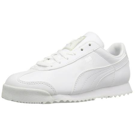 7de036e0ee PUMA - puma 361594-14 : boys' roma basic ps-k sneaker kid white (3 m ...
