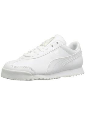 e02a05b91b73 Product Image Puma 361594-14  Boys  Roma Basic PS-K Kid White Sneaker